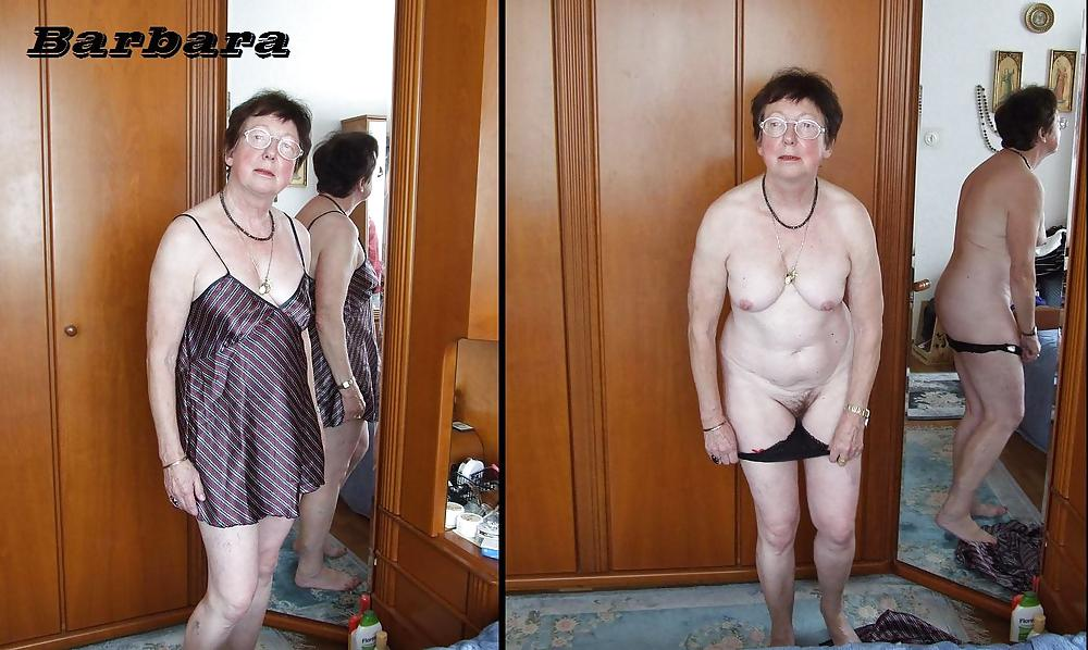 Dressed and undressed mature milf Porn Pics #7305156