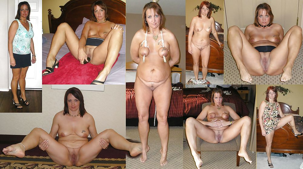 Dressed and undressed mature milf Porn Pics #7305641