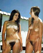 GIRLS TOGETHER VINTAGE HAIRY PUSSY #4269235