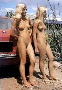 GIRLS TOGETHER VINTAGE HAIRY PUSSY #4269335
