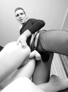 XES SUPER SEXY LESBIANS LADIES IN STOCKINGS BLACK&WHITE