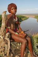 The Beauty of Africa Traditional Tribe Girls