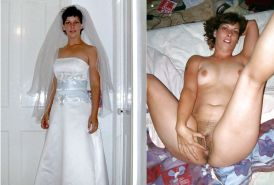 Brides and others, dressed and undressed - N. C.