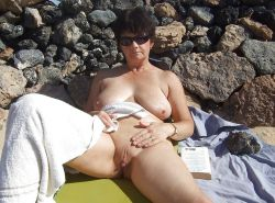 MILFs on the Beach - 5