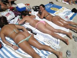 Beautiful Day At The Beach 24 (Asses) By Voyeur TROC #15961799