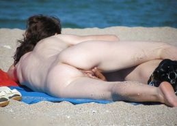 Beautiful Day At The Beach 24 (Asses) By Voyeur TROC #15961805