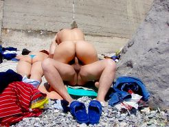 Beautiful Day At The Beach 24 (Asses) By Voyeur TROC #15961865