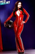 PBF Vault: Darenzia Peels Out of Latex Outfit for a Quickie