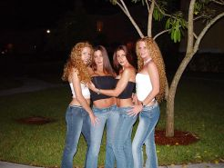 The Hottest Twin Lesbian Group Gallery