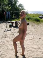 Mature women on the beach - 13