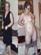 Mature Dressed Undressed Beauties #10560072