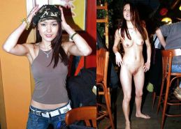 MILF dressed and undressed  #17103588