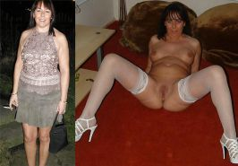 MILF dressed and undressed  #17103662