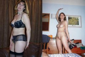 MILF dressed and undressed  #17103699
