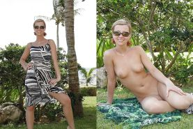 MILF dressed and undressed  #17103865