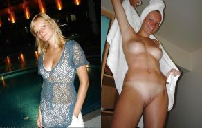 MILF dressed and undressed  #17103871