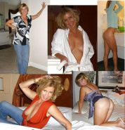 MILF dressed and undressed  #17103879