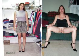 MILF dressed and undressed  #17104166