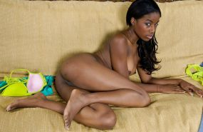 Black teen naked