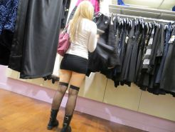 Amateur MILF in Public