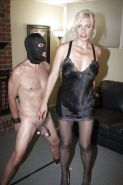 Cock and ball torture and whipping