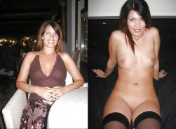 Before and After - Cute Milf and Mature - Best Porn Pics #10531955