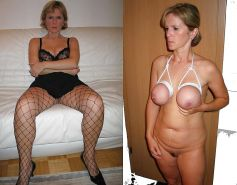 Before and After - Cute Milf and Mature - Best Porn Pics #10532194