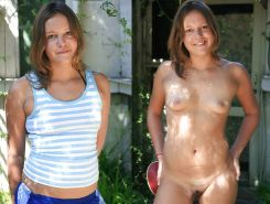 DRESSED & UNDRESSED: TEENS & MILFS MIXED