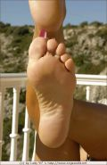 Lady Barbara and her sexy feet
