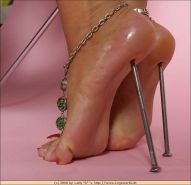 Lady Barbara and her sexy feet Porn Pics #16131094