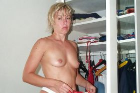 Karin takes a shower in a wet blouse - N. C.