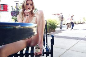 Upskirt and public pussy flashing. #22534090