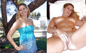 DRESSED &UNDRESSED: SPREADING TEENS & MILFS