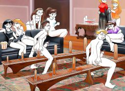 Strapon & Anal play toons (1)