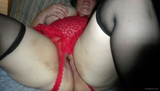 Bbw creampie stockings