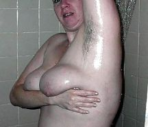 My bbw mature with hairy pits
