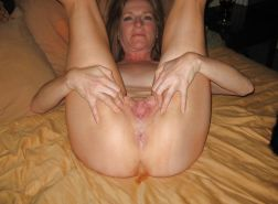 MILF loves facial, anal and creampie - N. C.