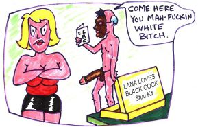 Interracial funny Cartoons #2