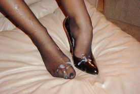 Cum feet and heels