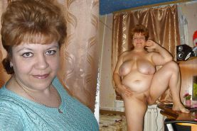 Dressed Undressed! Granny mature!
