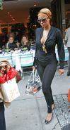 Tyra Banks at Nellos on Madison Avenue