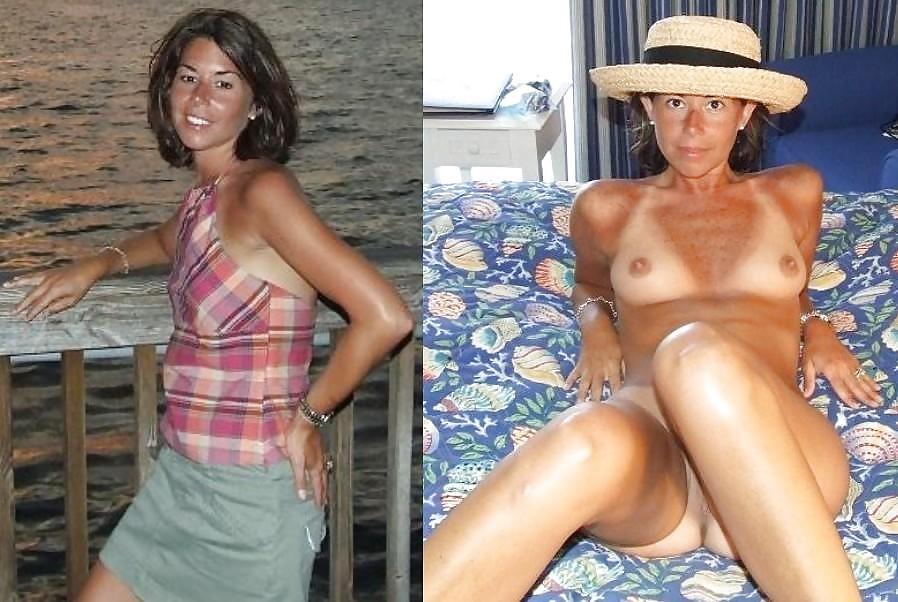 Dressed undressed MILF part 3 Porn Pics #2183118