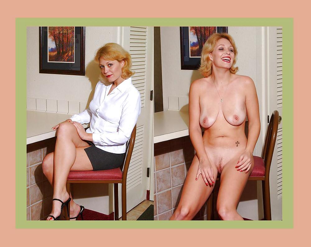 Dressed undressed MILF part 3 Porn Pics #2183160