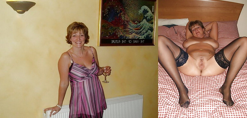 AMATEUR MILFS: DRESSED & UNDRESSED Porn Pics #8580139