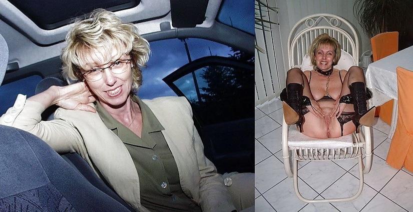AMATEUR MILFS: DRESSED & UNDRESSED Porn Pics #8580175