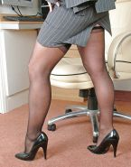 Hot Milf in high heels and stockings