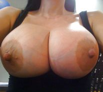Nice Set Of Natural Tits And Some '' HUGE NIPPLES '' Too