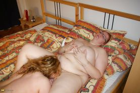 Mature and younger lesbians