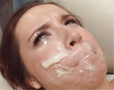 Unwanted Angry Messy Cumshot Facials Dislike Hate Disgust
