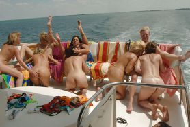Boat party in the Gulf